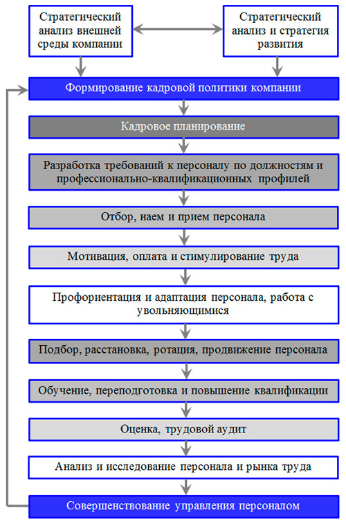 модель цикла СУП