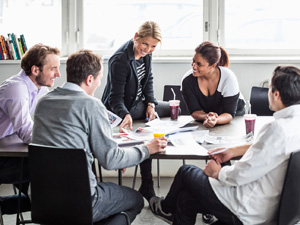 совещание команды