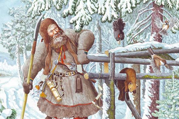 сибирский охотник 18 века