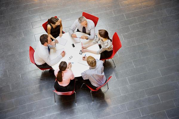 деловое совещание