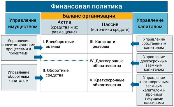 направления финансовой политики
